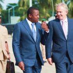 Faure Gnassingbé et Tony Blair mercredi au Port Autonome de Lomé