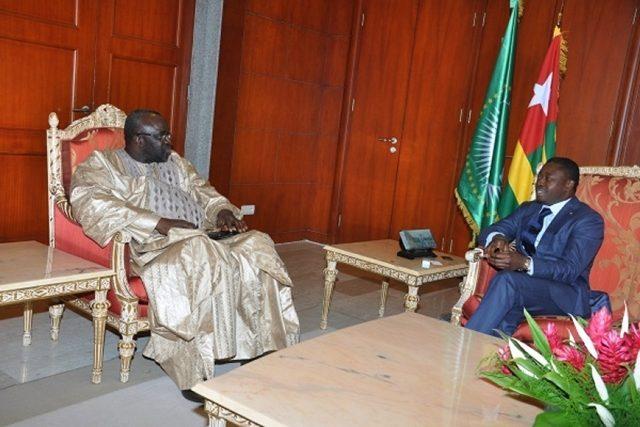 Moustapha Cissé et Faure Gnassingbé