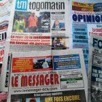 Quelques parutions de journaux au Togo