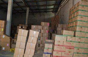 Une image de l'entrepôt