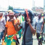 Des militants de l'opposition dans les rues de Lomé (archives)