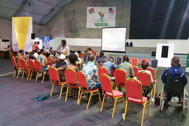 Séance d'échange avec les victimes à Lomé