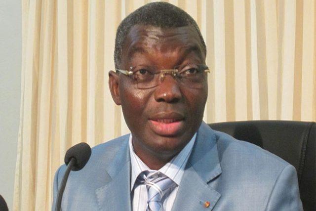 Le ministre Damehame Yark en charge de la sécurité et de la protection civile