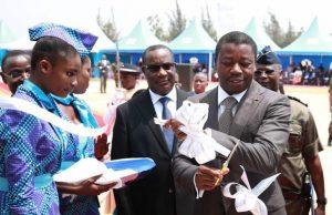 Inauguration de l'usine Do Pharma par Faure Gnassingbé