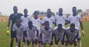 Des joueurs de l'As Togo Port