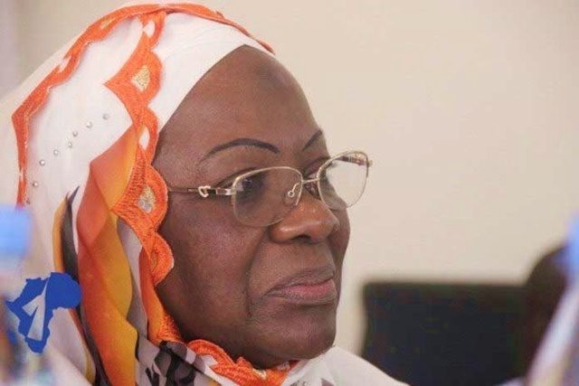 Awa-Nana Daboya, présidente du HCRRUN