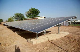 Une image du site de la centrale solaire de Takpapiéni