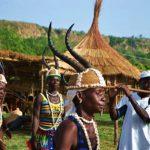 Exhibitions de groupes de danses folkloriques (archives)