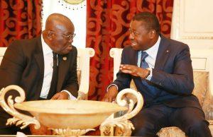 Tête-à-tête entre Nana Akufo-Addo et Faure Gnassingbé