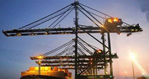 Une image du port autonome de Lomé