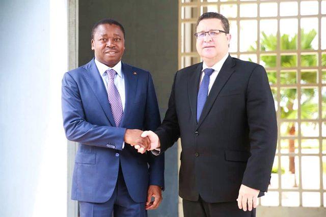 Faure Gnassingbé et Pierre Laporte