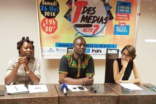 Les promoteurs du « T des Médias » face à la presse