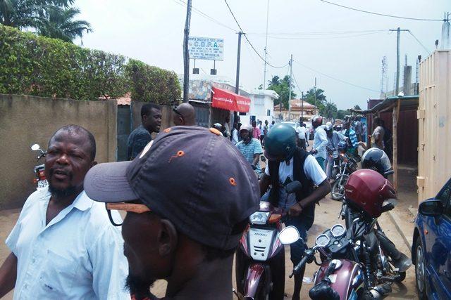 Ambiance au siège de la CDPA à Lomé