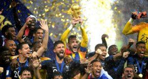 La France championne du monde 2018