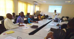 Une image des participants lors de la formation