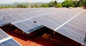 Un dispositif de production de l'énergie solaire au Togo