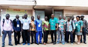 Une image de la délégation des Ambassadeurs de la décentralisation