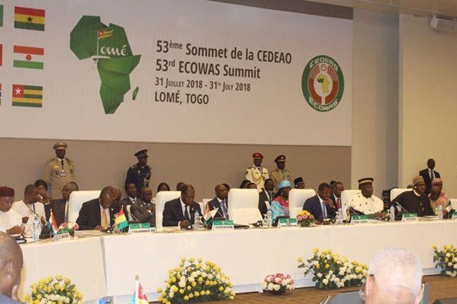 53ème session de la CEDEAO à Lomé