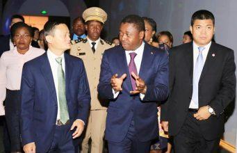 Faure Gnassingbé à Alibaba Group, le géant chinois du commerce en ligne