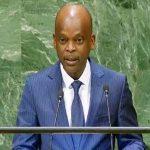 Robert Dussey à la Tribune des Nations Unies