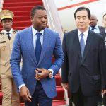 Arrivée de Faure Gnassingbé en Chine
