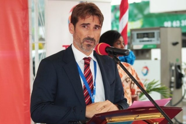 Frédéric Rivière, Directeur Général de Total Togo