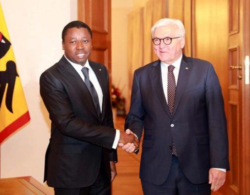 Faure Gnassingbé et Franck-Walter Steinmeier
