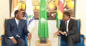 Alassane Ouattara et Faure Gnassingbé