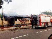 Une image de l'incendie