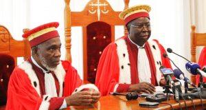 Des membres de la Cour Constitutionnelle