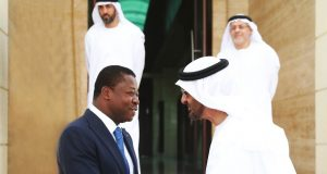 Faure Gnassingbé et Son Altesse Mohamed Bin Zayed