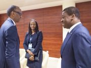Faure Gnassingbé et Paul Kagamé au CEO Africa Forum