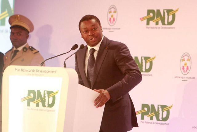 Faure Gnassingbé au lancement du PND