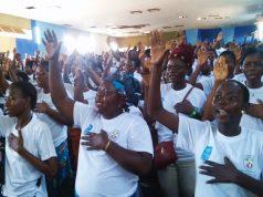 Prestation de serment des volontaires