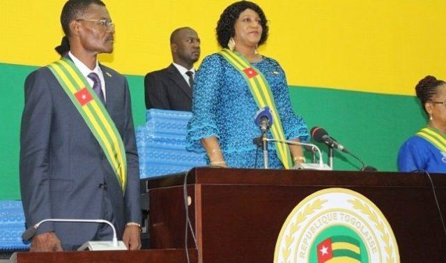 Mme Tsegan Yawa Djigbodi à l'ouverture de la session (©savoirnews)