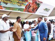 Faure Gnassingbé au lancement de la campagne