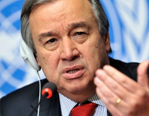 Antonio Guterres, Secrétaire général des Nations Unies