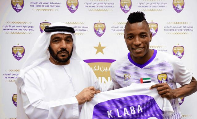 Fo-Doh Laba signe au club d'Al Ain FC