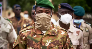 Colonel Assimi Goïta (©Archives AFP)